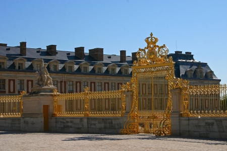 The Palace of Versailles or Chateau de Versailles in France