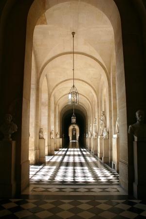 ベルサイユ宮殿、フランスのシャトー ・ ド ・ ヴェルサイユ 写真素材 - 14147927