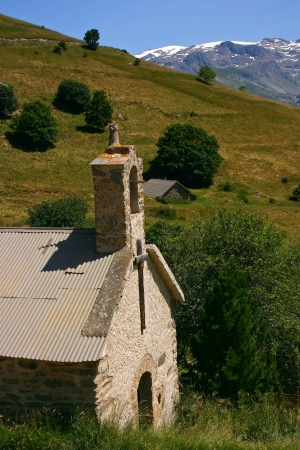 Chapel in the French Alps photo