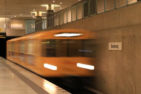 u bahn: Bundestag is a Berlin U-Bahn station located on the U55