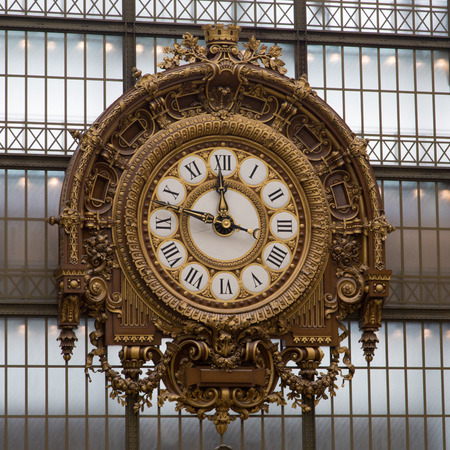 The Orsay Museum in Paris across the Seine River