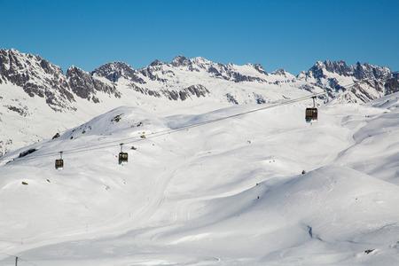 oz: The Alpe d Huez ski domain in the French Alps