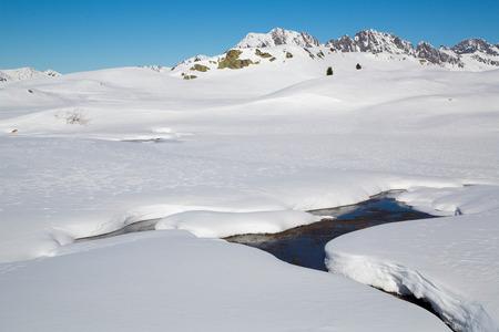 oz: Mountain around the Oz en Oisans Station in the French Alps