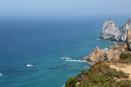 roca: Cabo da Roca, West most point of Europe, Portugal