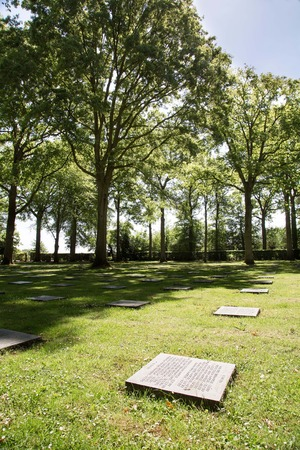 military cemetery: The German Military Cemetery of World War I in Vladslo Belgium