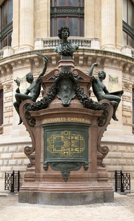 palais garnier: The Palais Garnier, the opera house of Paris, France