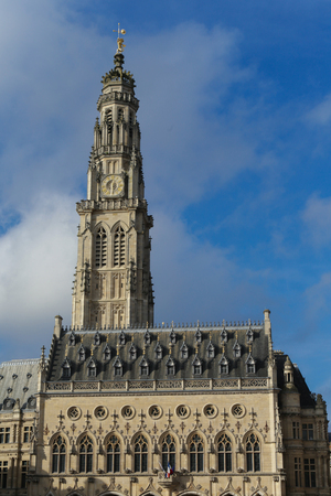 heros: The townhall at the Heroes place in the French Arras