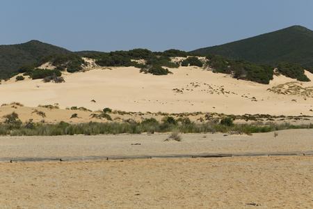 southwest: The Piscinas dunes in Southwest Sardinia, Italy Stock Photo