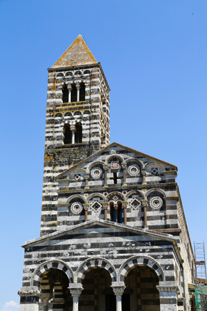 trinita: The Santa Trinita di Saccargia church in Sardinia
