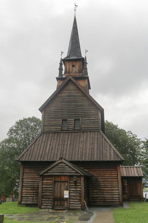 The Kaupanger Stave Church is the largest stave church in Sogn og Fjordane, Norway