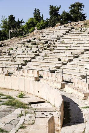 Theatre of Dionysus at the Acropolis in Athens, Greece