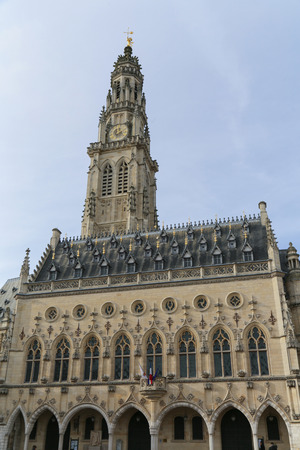 The townhall at the Heroes place in the French Arras