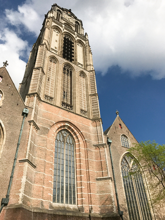 St. Lawrence Church, a Protestant church in the town centre of Rotterdam