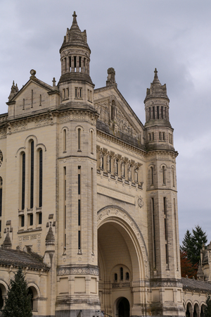 Basilica of St. Therese of Lisieux in Normandy France 写真素材