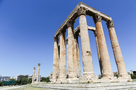 The Temple of Olympian Zeus or the Olympieion