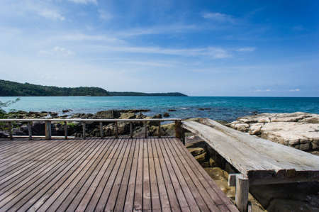 hardscape: View point at koh kood island, Thailand