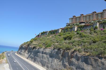 alanya: Luxury Hotel on the hill in Alanya