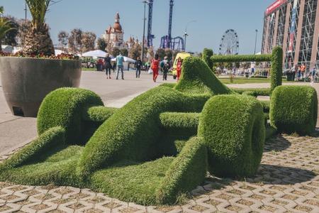 greenery Sports car 版權商用圖片 - 77748161