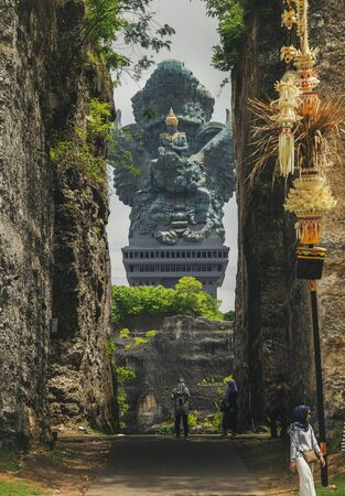 10.03.2019 Bali, Indonesia, Garuda Wisnu Kencana Cultural Park Redakční