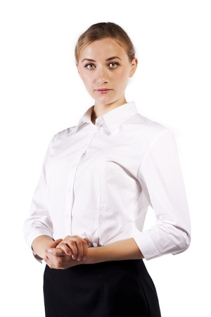Portrait of a young businesswoman Stock Photo - 12621454