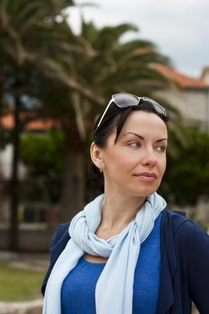 Portrait of elegant middle aged woman portrait Zdjęcie Seryjne