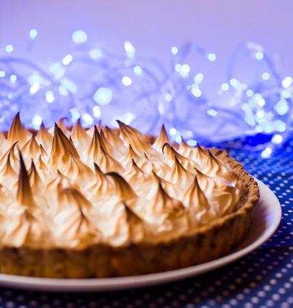 meringue pie Stock Photo