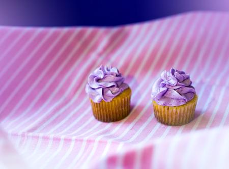 Party cupcakes Standard-Bild