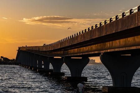 Walking bridges allow people to enjoy a run or walk without slowing down traffic