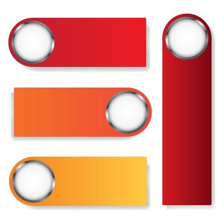 textbox: Four  textbox modern vector