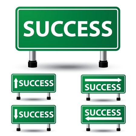 Vector illustration of success sign Stock Vector - 20995781