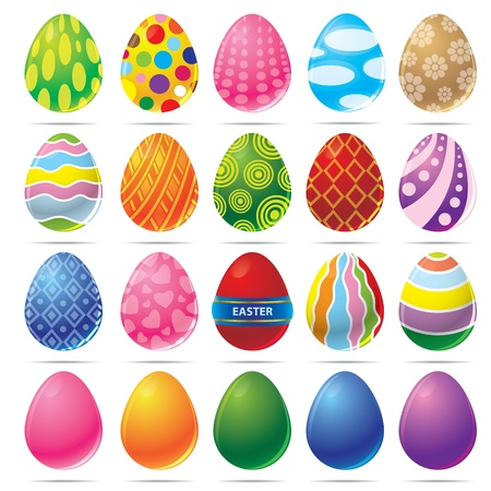 vector illustration of Easter egg Vector