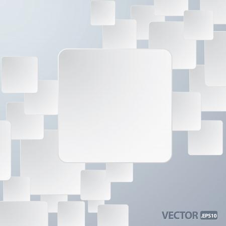 Illustration of paper frame background for your text or image Illustration