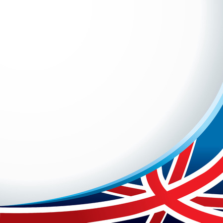 England flag background for your message or image. vector illustration Vector
