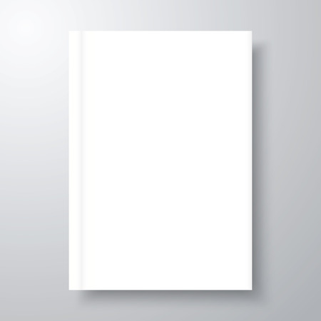 Book mock-up with shadow