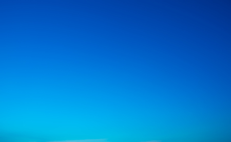 Clear blue sky in evening time background Stock Photo