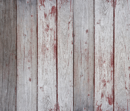 parquet texture: Old wood with peeling red paint texture background