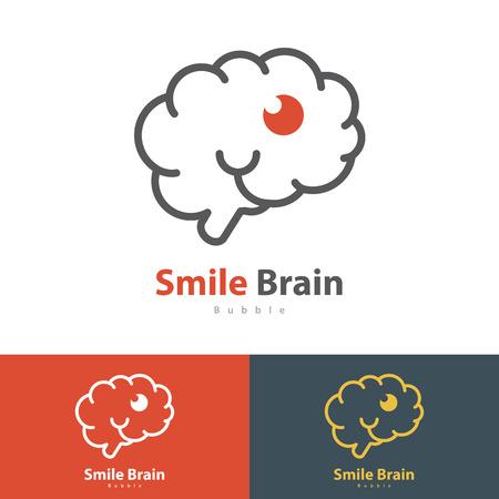 smile icon: Smile Brain symbol icon.