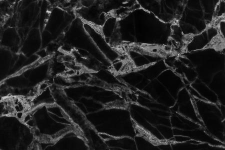 Patroon van zwarte marmer achtergrond. abstracte natuur patroon voor design. Stockfoto