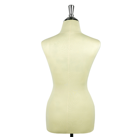 Mannequin isolate on white background back view.
