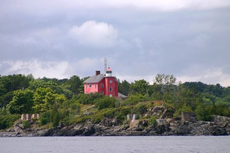 superiors: Marquette Harbor Lighthouse