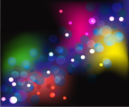 background abstract colorful bokeh Stock Vector - 105971008
