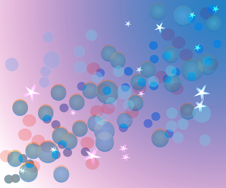 background gentle heavenly bokeh Illustration