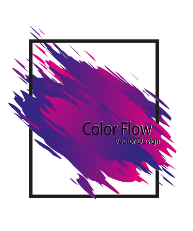 Abstract hand painted Stock Vector - 106621727