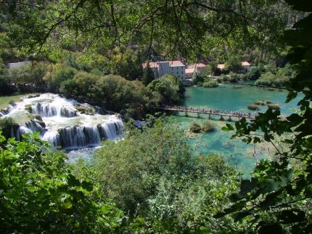 attraktion: Krka - National park in Kroatien