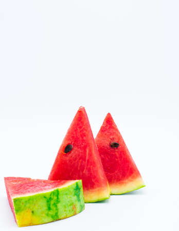 pices: Sweet and Juicy Watermelon Stock Photo