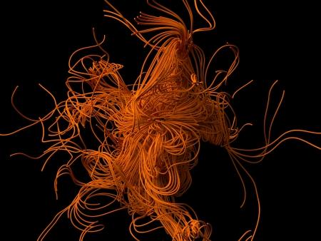 swarm: tangled wire swarm