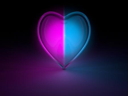 corazon cristal: brillante coraz�n de cristal
