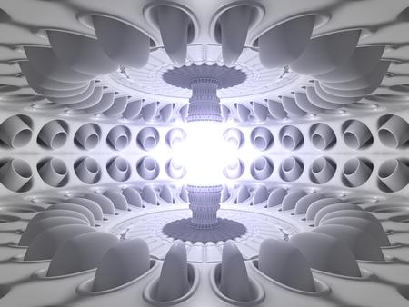 reactor core room