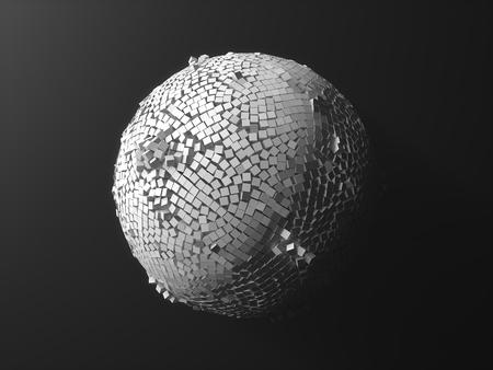 swarm: cubes swarm
