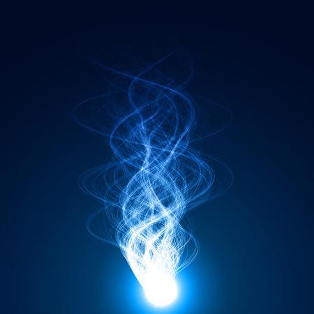 magic flame vector
